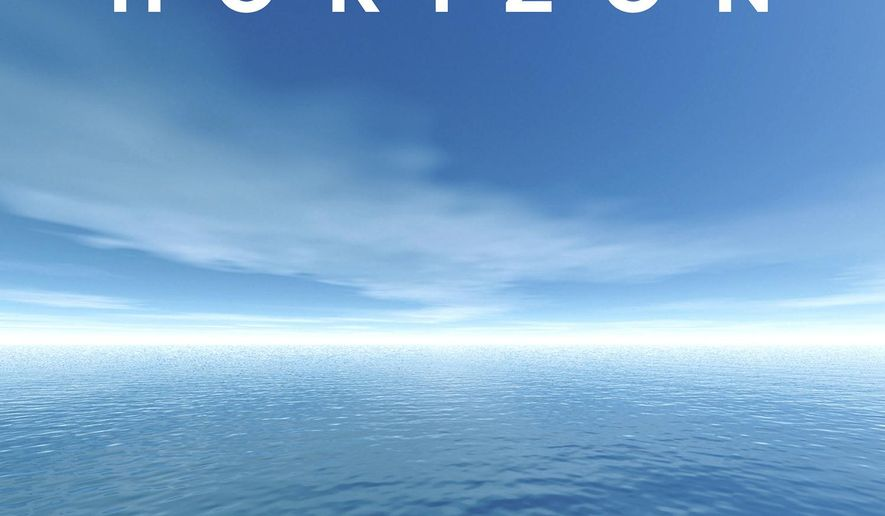 """This cover image released by Knopf shows """"Horizon,"""" by Barry Lopez. (Knopf via AP)"""