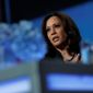 Democratic presidential candidate Sen. Kamala Harris brushed off concerns this week about how she plans to pay for her $315 billion plan to beef up teacher pay, a proposal that calls for a $13,500 raise per teacher. (Associated Press)