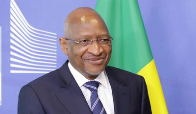 Malian Prime Minister Soumeylou Boubeye Maiga said that if the U.S. wants democracy to flourish in his country, then the Trump administration must encourage private investment from major American companies (AP Photo/Olivier Matthys, Pool)