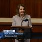 Speaker Nancy Pelosi discusses women's issues before the House, March 27, 2019. (Image: C-SPAN)