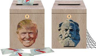 Democrat Electability Illustration by Greg Groesch/The Washington Times