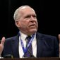 John Brennan, former director of the Central Intelligence Agency. (Mike Simons/Tulsa World via AP) ** FILE **