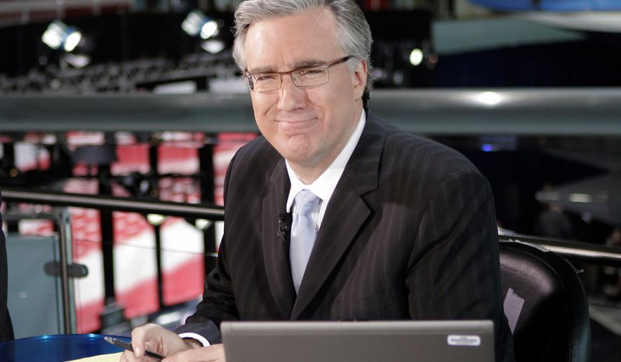 In this May 3, 2007, file photo, Keith Olbermann poses at the Ronald Reagan Library in Simi Valley, Calif. (AP Photo/Mark J. Terrill, File)