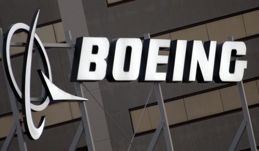 FILE - In this Jan. 25, 2011 file photo, the Boeing Company logo on the property in El Segundo, Calif. Boeing Co. Delivering final word in a nearly 14-year standoff, a World Trade Organization body has ruled on Thursday, March 28, 2019 Boeing received U.S. subsidies via tax breaks from Washington state that damaged sales of aircraft made by European archrival Airbus. The decision by the WTO's appellate body considered whether the U.S. aeronautics and defense giant had complied with a 2012 ruling that found Boeing received at least $5 billion in subsidies that were prohibited under international trade rules. (AP Photo/Reed Saxon, File)