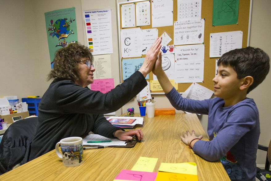 Charter schools have the flexibility to offer unconventional teaching methods without the bureaucratic oversight of traditional districts and burdensome teacher-union contracts. (Associated Press/File)