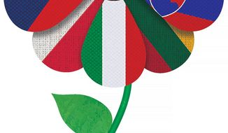 East European Flower Illustration by Greg Groesch/The Washington Times