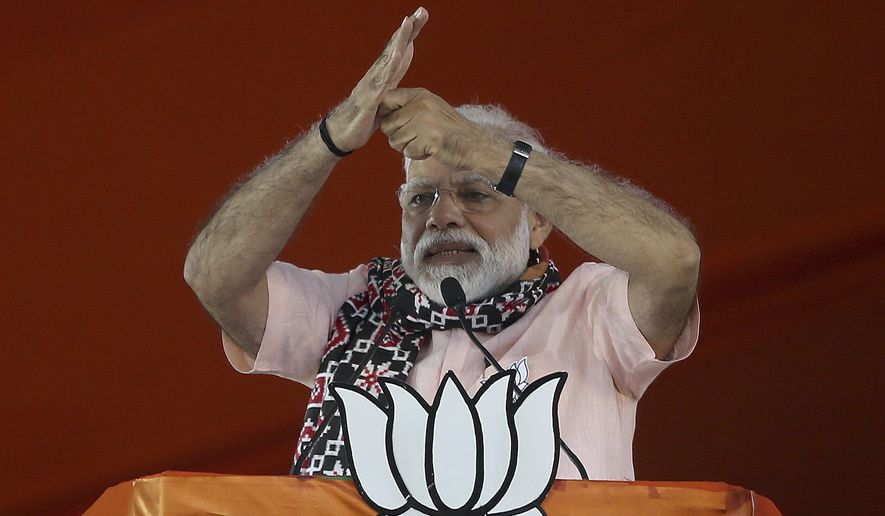 Indian Prime Minister Narendra Modi personally continues to be more popular at the national level than any other leader, but local issues and personalities largely influence national elections. (Associated Press/File)