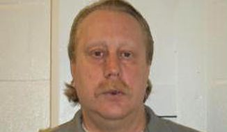 This undated photo provided by the Missouri Department of Corrections shows Russell Bucklew. The Supreme Court says Missouri can execute an inmate who argued his rare medical condition will result in severe pain if he is given death-causing drugs. The justices are ruling 5-4 Monday against inmate Russell Bucklew, who is on death row for a 1996 murder.  (Missouri Department of Corrections via AP)