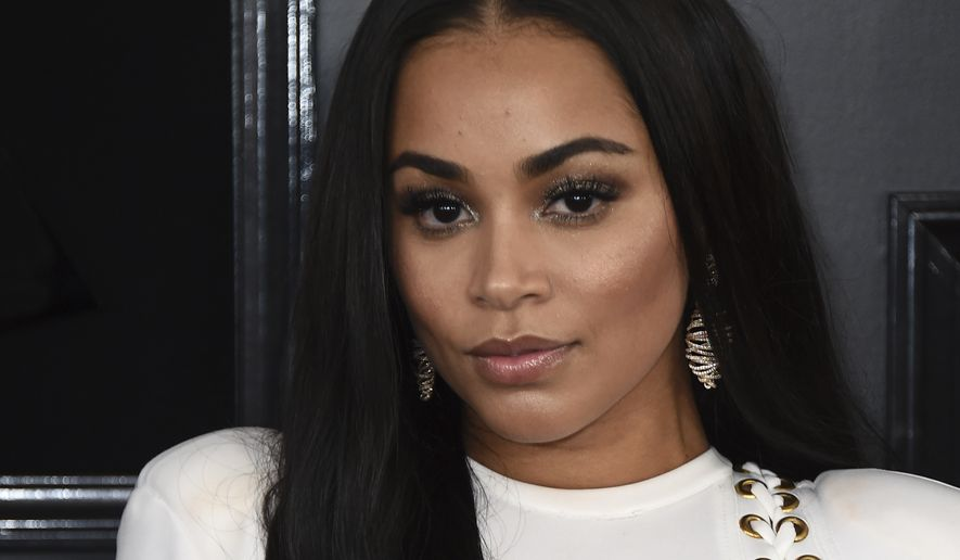 Lauren London arrives at the 61st annual Grammy Awards at the Staples Center on Sunday, Feb. 10, 2019, in Los Angeles. (Photo by Jordan Strauss/Invision/AP)