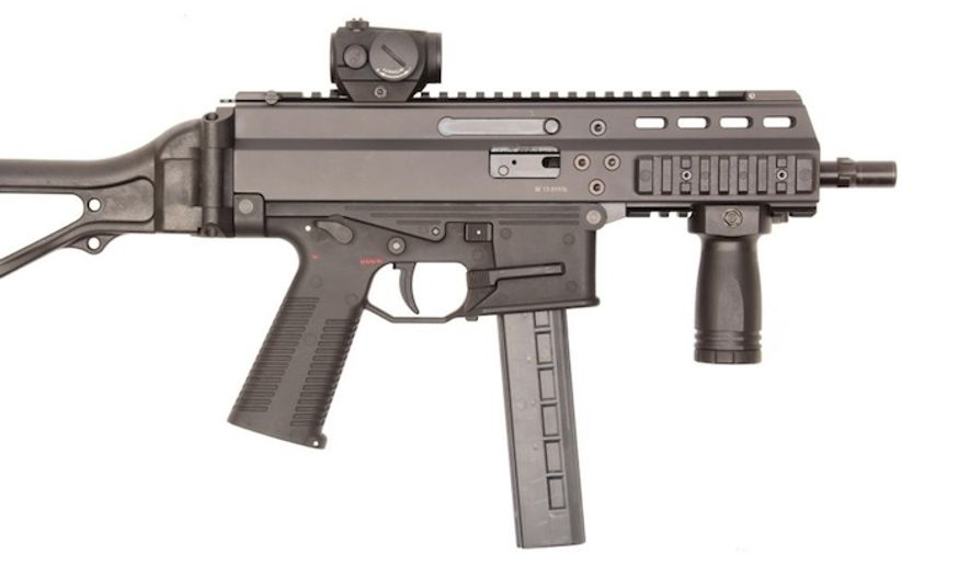 The APC9K, a sub compact weapon by B&T, USA (formerly Brugger and Thomet), will be used on security details to protect key U.S. commanders and leaders. (Image: B&T)