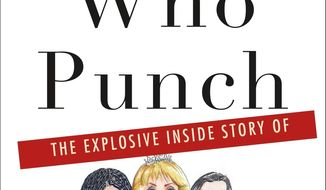 "This cover image released by Thomas Dunne Books shows ""Ladies Who Punch: The Explosive Inside Story of 'The View', by Ramin Setoodeh. (Thomas Dunne Books via AP)"
