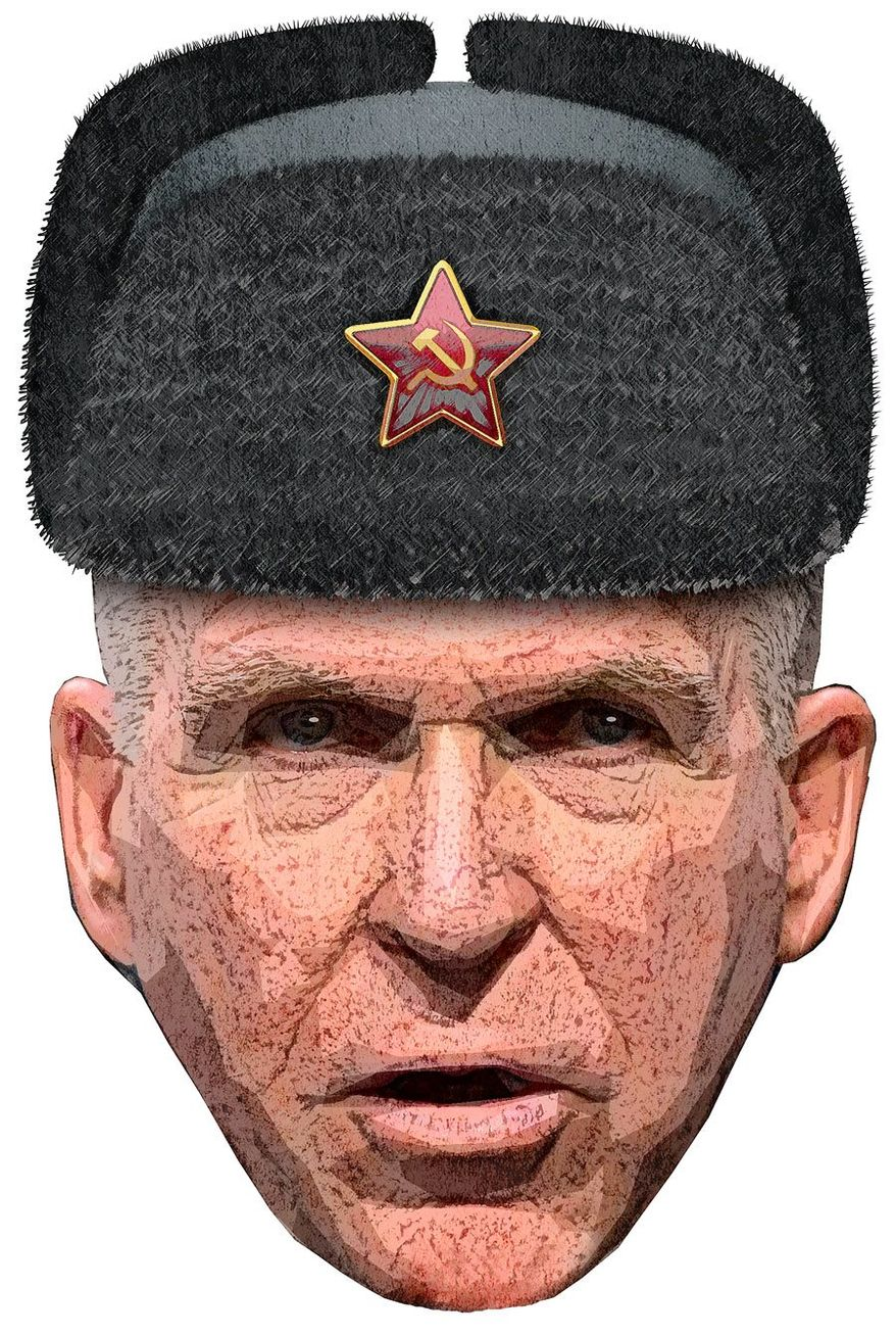 Russian Ring Leader Illustration by Greg Groesch/The Washington Times