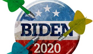 Taking Shots at Joe the Candidate Illustration by Greg Groesch/The Washington Times