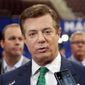 The early FBI probe of former Trump campaign chairman Paul Manafort's business activities in Ukraine ended for lack of evidence in 2014. The FBI renewed its investigation of Mr. Manafort in 2016. (Associated Press)