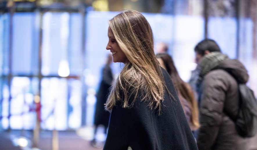 Stephanie Winston Wolkoff leaves Trump Tower, Monday, Dec. 5, 2016, in New York. (AP Photo/Andrew Harnik)
