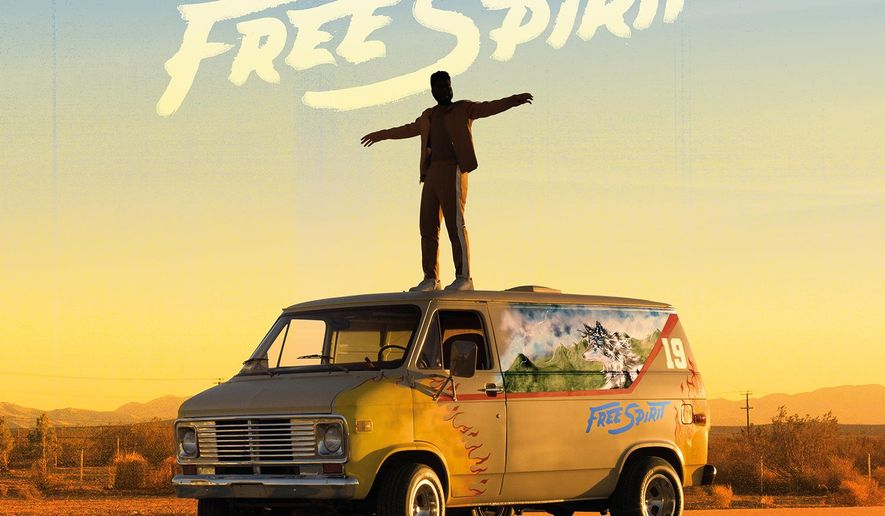 """This cover image released by Right Hand Music Group/RCA Records shows """"Free Spirit,"""" a release by Khalid. (Right Hand Music Group/RCA Records via AP)"""