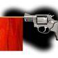 Illustration on red flag gun laws by Alexander Hunter/The Washington Times