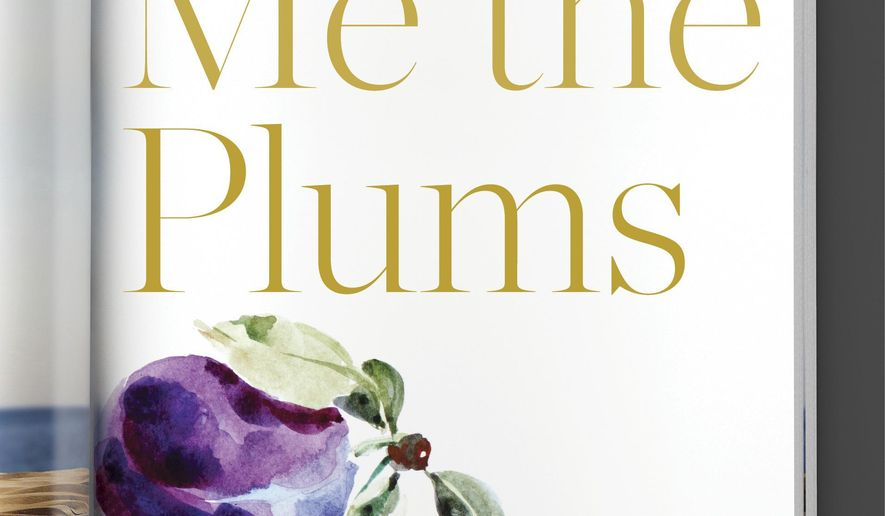 """This cover image released by Random House shows """"Save Me the Plums: My Gourmet Memoir,"""" by Ruth Reichl. (Random House via AP)"""