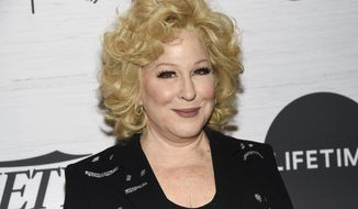 Honoree Bette Midler attends Variety's Power of Women: New York presented by Lifetime at Cipriani 42nd Street on Friday, April 5, 2019, in New York. (Photo by Evan Agostini/Invision/AP)