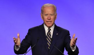 Former Vice President Joseph R. Biden is expected to enter the race this month and said Friday that he will make an announcement soon. (Associated Press/File)