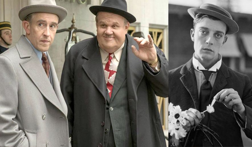 "Steve Coogan and John C. Reilly star in ""Stan and Ollie"" and Buster Keaton stars in ""The Great Buster: A Celebration,"" both available in the Blu-ray format."