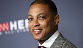 In this Dec. 9, 2018, file photo, CNN anchor Don Lemon attends the 12th annual CNN Heroes: An All-Star Tribute at the American Museum of Natural History. Lemon has announced his engagement to New York real estate Tim Malone. Lemon, who has two dogs with Malone, used Instagram on Saturday, April 6, 2019, to post photos of customized canine tags.  No wedding date was announced. (Photo by Evan Agostini/Invision/AP, File)