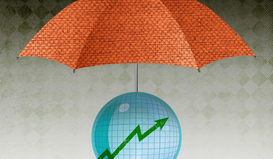 Forecast Protection Illustration by Greg Groesch/The Washington Times