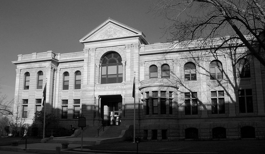 The New Hampshire State Library in Concord, New Hampshire, is shown here in this Dec. 6, 2012 photo from user AlexiusHoratius, shared on Wikimedia Commons via a Creative Commons license. No changes have been made to the original image. The State Library suffered a small fire in the basement on the morning of April 8, 2019, which was quickly brought under control by firefighters and resulted in no injuries, according to an AP report. [Link for Creative Commons 3.0 license: https://creativecommons.org/licenses/by-sa/3.0/deed.en]