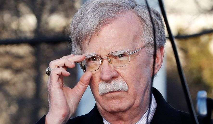 "National Security Adviser John Bolton once said the Djibouti deal showed the ""effects of China's quest to obtain more political, economic and military power."" (ASSOCIATED PRESS)"