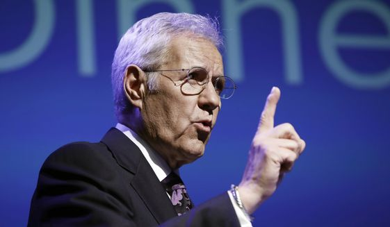 Alex Trebek's thanks for 'prayers' in pancreatic cancer
