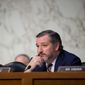 """China is in my view the greatest long-term geopolitical risk to the United States,"" Sen. Ted Cruz, Texas Republican, told a conference of China watchers. He suggested fighting back by exposing Beijing's abuses. (Associated Press/File)"