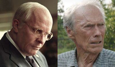 "Christian Bale stars as Dick Cheney in ""Vice"" and Clint Eastwood stars as Earl Stone in ""The Mule,"" now available in home entertainment."