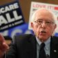 Sen. Bernie Sanders, I-Vt., introduces the Medicare for All Act of 2019, on Capitol Hill in Washington, Wednesday, April 10, 2019. (AP Photo/Manuel Balce Ceneta) ** FILE **