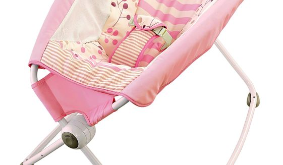 This undated photo provided by the U.S. Consumer Product Safety Commission shows the Fisher-Price Rock 'n Play Sleeper. Fisher-Price is recalling nearly 5 million infant sleepers after more than 30 babies rolled over in them and died since the product was introduced in 2009. The U.S. Consumer Product Safety Commission says that anyone who bought any models of the Fisher-Price Rock 'n Play sleeper should stop using it right away and contact Fisher-Price for a refund. The recall covers about 4.7 million of the sleepers, which cost between $40 and $149. (U.S. Consumer Product Safety Commission via AP)