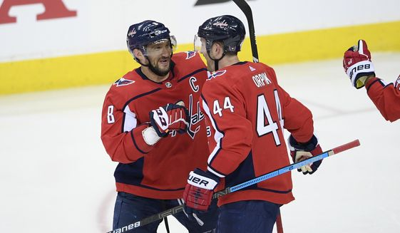 b71569574e3 Alex Ovechkin s evolution as passer on display in Game 2 - Washington Times