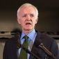 Former Sen. Bob Kerrey of Nebraska is speaking out against fellow Democrats who are politicizing the Russia investigation. (Associated Press/File)