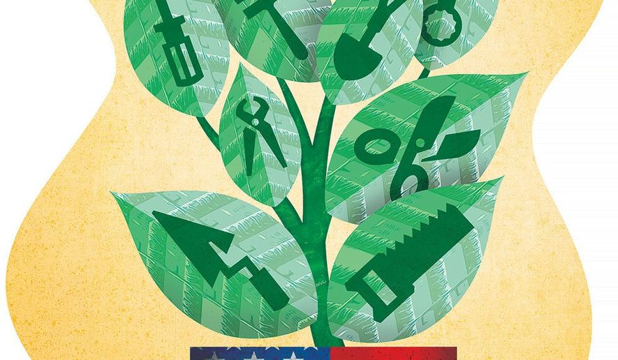 Growing American Jobs Illustration by Greg Groesch/The Washington Times