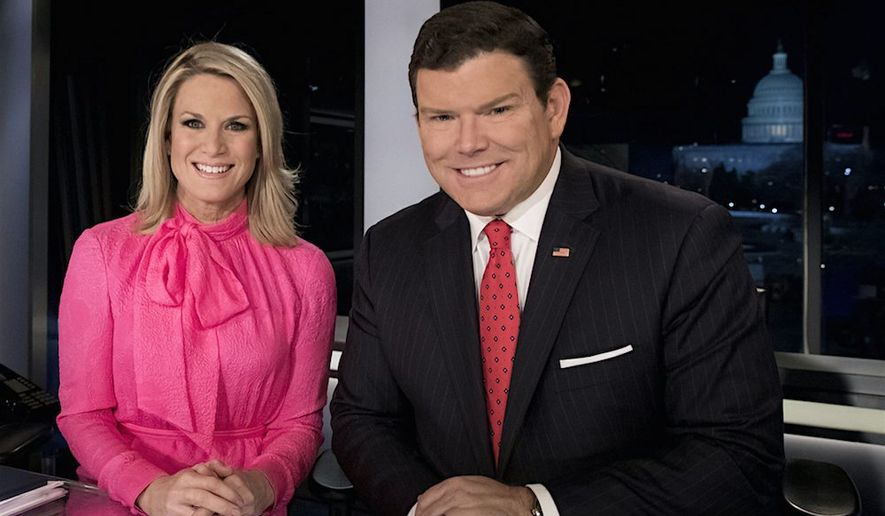 Fox News anchors Martha MacCallum and Bret Baier will host Sen. Bernard Sanders in a town hall Monday in Bethlehem, Pennsylvania. (Fox News)