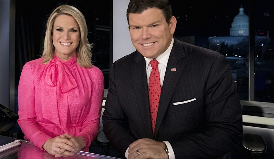 Fox News anchors Martha MacCallum and Bret Baier will host Sen. Bernard Sanders in a town hall Monday in Bethlehem, Pennsylvania. (Fox News)