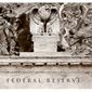 Illustration on the history of the Federal Reserve by Alexander Hunter/The Washington Times