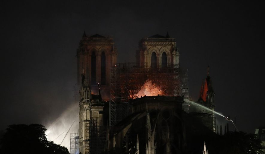 Notre Dame Arson Terrorism Ruled Out For Now Paris Prosecutors