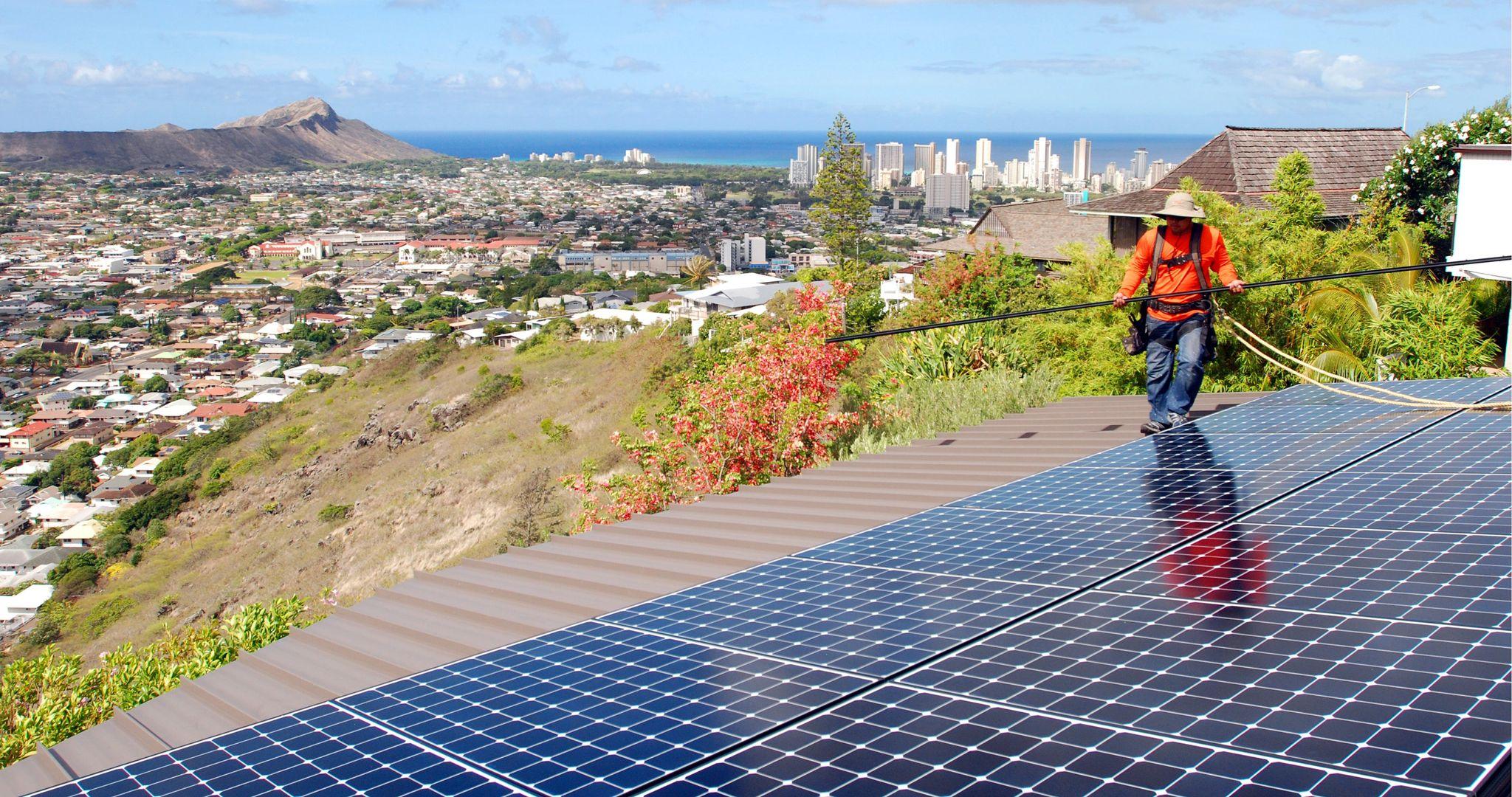 Solar energy capacity, usage more than 'sun coast' experience