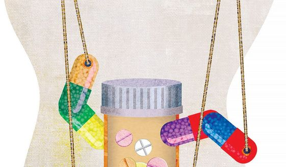Price Controls on Drugs Illustration by Greg Groesch/The Washington Times