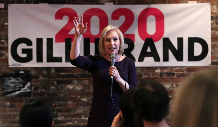 Gillibrand's presidential campaign raises less than $3 million