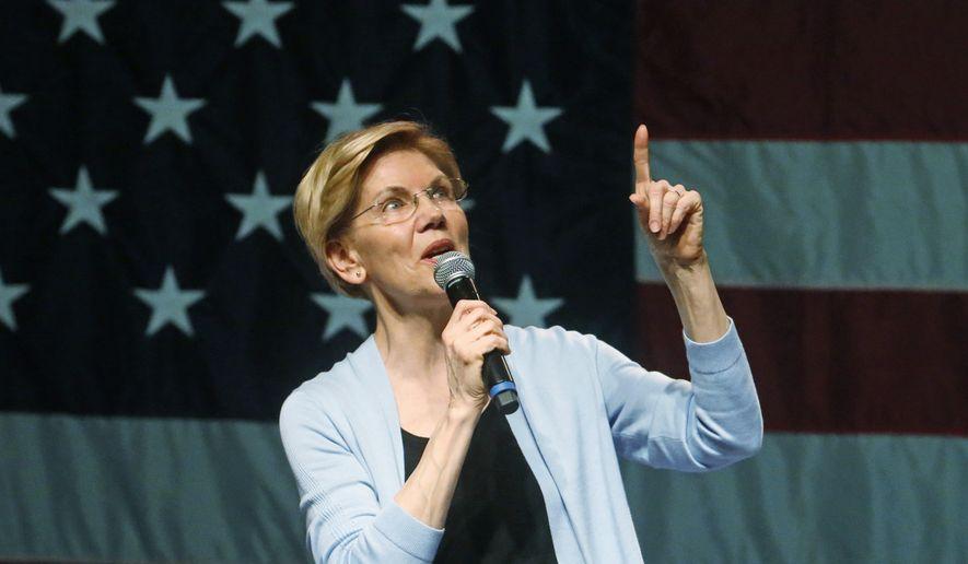 Elizabeth Warren says U.S. should get rid for-profit private prisons