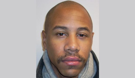 34-year-old Rudolph Jericho Smith has been charged with first-degree assault and reckless endangerment. Photo via Frederick Police Department
