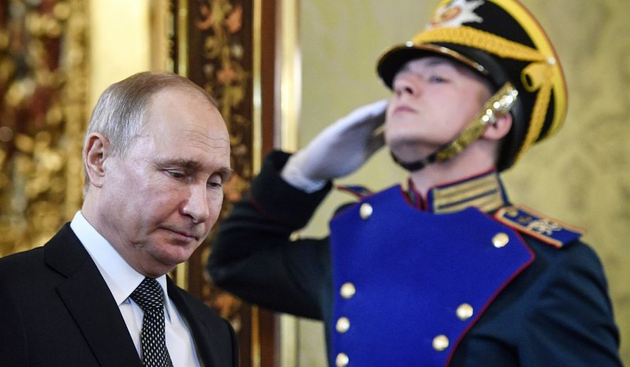 Vladimir Putin Retirement Forces Russia To Grapple With Change In Advance Washington Times