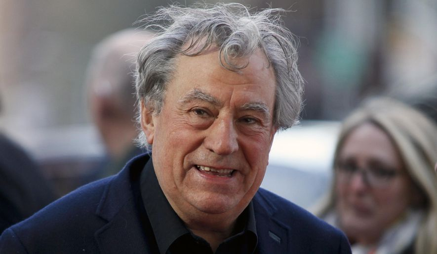 """This April 24, 2015, file photo shows Terry Jones at a special Tribeca Film Festival screening of """"Monty Python and the Holy Grail"""" in New York. (Photo by Andy Kropa/Invision/AP, File)"""