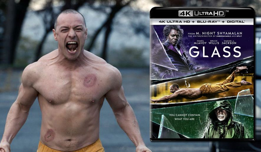 "Kevin Crumb (James McAvoy) channels the Beast in ""Glass,"" now available on 4K Ultra HD from Universal Pictures Home Entertainment."