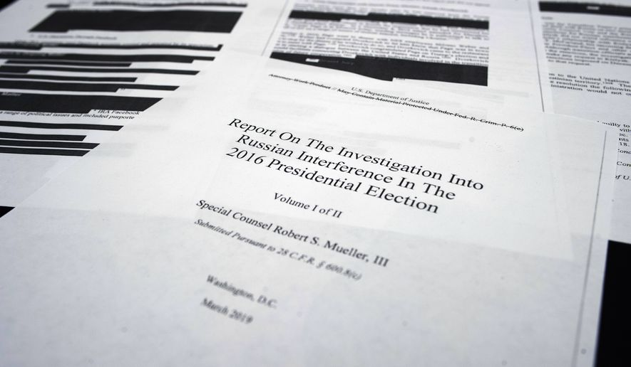 The Mueller Report' is officially a best-seller - Washington